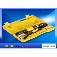 China 10MM stroke Hexagon Manual Hydraulic Crimping Tool Crimping Up to 4-70mm2 on sale