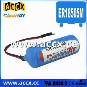 China 3.6V ER18505M Lithium Thionyl Chloride Battery (er14250mer14335m er14505m er26500m er3461m wholesale
