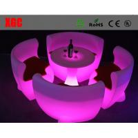 China Led Bar Chair  Light Up Plastic PE Chair wholesale