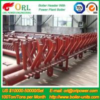 China Plant CFB Boiler Heating Power Chemical Oil Chemical Industry 240 MW Boiler Header SGS wholesale
