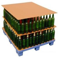 China 1000x 1200mm Glass Bottles PP Corrugated Plastic Layer Pads / PP Hollow Board on sale