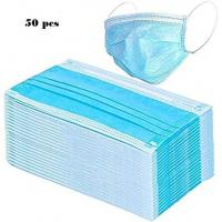 China Earloop Anti Dust Face Mask , Disposable Mouth Mask With Multi Layered wholesale