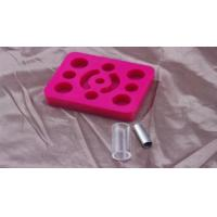 China Pink Tattoo Gun Holder For Permanent Makeup Machine / Pen / Ink 12 Grips on sale