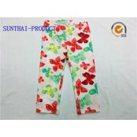 China Comfortable Cute Baby Girl Leggings Water Ink All Over Printed For Spring / Summer wholesale