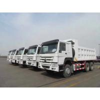 China sinotruk 40 ton howo dump truck HC16 hud reduction axle 300L Fuel Tank wholesale