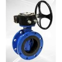 China Flanged Resilient Sealing Stainless Steel / Ductile Iron Butterfly Valve 1.0MPa / 1.6MPa,SS304,316 on sale