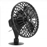 "China 4"" Plastic Car Fan DC 12V Black Fan With One Year Warranty OEM Service wholesale"