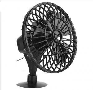 "China 4"" Plastic Car Fan DC 12V Black Fan With One Year Warranty OEM Service wholesale"