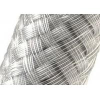 China Custom Diameter 304 Stainless Steel Braided Sleeving For Any Wire / Hose / Cable on sale