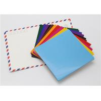 China Handy Matt Gummed Paper Squares Assorted Colour For School Children Handwork wholesale