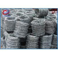 China High Tensile Steel Double Twist Barbed Wire Electro Galvanized on sale