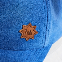 China Outdoor Sports Soft Autumn Winter Polar Fleece Baseball Cap Hat with debossed logo leather patch wholesale