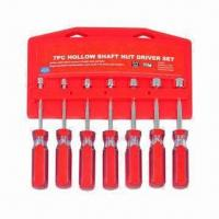 China 7 Pieces Socket Hollow Shaft Set, Made of CRV wholesale