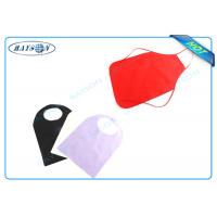 China Colorful Disposable Bib and Apron Polypropylene Non Woven Fabric For Household , Medical wholesale