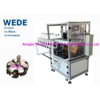 China Bobbin Coil Automatic Transformer Coil Winding Machine With 8 Heads HMI Display wholesale