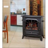 China ND-20C Wooden Freestanding Electric Fireplace Flame Heater chimenea electrica log Stoves wholesale