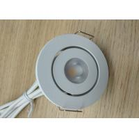 Buy cheap IP44 Mini Round 3W 2700K-3000K Tiltable LED Fixture included 300mA LED Driver for Bathroom from wholesalers