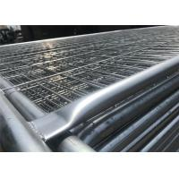 China 2.1m highx2.4m wide  second hand  steel temporary fencing panel wholesale