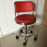 China New Model Lab Accessories Antistatic Gaslift Movable Stool Laboratory ESD Chair with Wide Backrest on sale