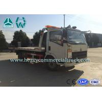 China 190 HP Light Duty Rollback Wrecker Tow Truck Mechanical Transmission wholesale