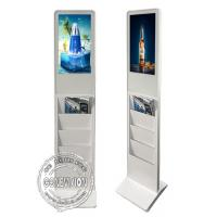 China Lobby Floor Standing Digital Signage 1080 HD Andriod Mainboard Advertising Machine wholesale