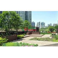 Quality Recyclable 100% Wood Plastic Composite Lumber , Composite Timber Decking for sale