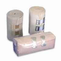 China Skin-colored Bandages for Sports Injuries, Made of Spandex, Cotton Threads and Elastic, Washable wholesale