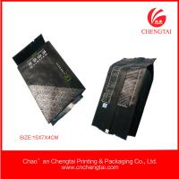 China Gusseted Plastic Bags 100 micron , heat seal Tea Packaging Pouches wholesale