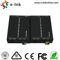 China 1080P Fiber Optic Hdmi Extender with External Audio Transmission 20Km , SM  LC (SFP) wholesale