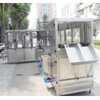 Quality Capacity 240 bottles per hour / 20 Litter bottle water filling machine for sale