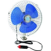 China 12V OR24V Full Safety Metal Guard Car Cooling Fan Screw Mounting wholesale