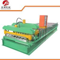 China Bamboo Shaped Glazed Tile Making Machine / Steel Roofing Sheet Roll Forming Machine wholesale