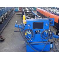 China Round / Rectangular Downspout Roll Forming Machine With 20 Roller Stations Germany Rex Valve wholesale