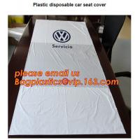 China Disposable seat cover on a roll Wing cover Dust broom Universal front cover Wheel screw bag Screw bag including drawstri wholesale