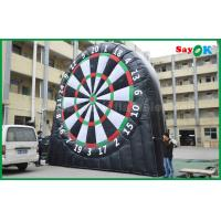China Durable Inflatable Sports Games , 0.45mm PVC Tarpaulin Inflatable Dart Board 5mH wholesale