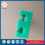 China color anti-skid yellow uhmwpe plastic pad|facing pad of marine fender wholesale