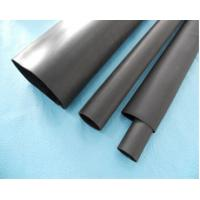 China Black Thin Wall Custom Silicone Tubing Wire Heat Shrink Sleeving For Providing Protection wholesale