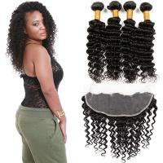 China Healthy 100 Unprocessed Virgin Brazilian Hair Deep Wave Customized Color wholesale