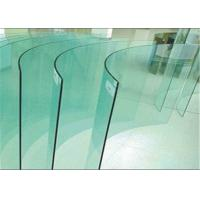 China Flat / Bent Tempered Safety Glass High Strength 10mm Toughened Glass For Curtain Wall wholesale