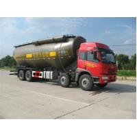 China 30 to 80CBM Cement Bulker Truck , Cement Tanker Trailer Clean Rust wholesale