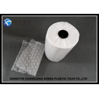China 200mm/400mm Width HDPE Air Bubble Wrap , Packaging Air Pillows For Filled Machine wholesale