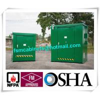 China Outdoor Chemical Storage Cabinets Safety Flammable Locker For Pesticide wholesale