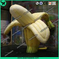 China Fruits Promotion Inflatable Replica/Giant Inflatable Banana Model wholesale