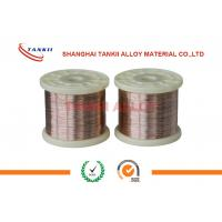 China Cuni 10 Copper Nickel Alloy Wire Heating Resistant Electric Wire For Winding Coils wholesale