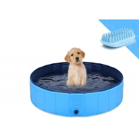 China Inflatable PVC Portable Dog Bath Tub Foldable Waterproof CE Certified wholesale