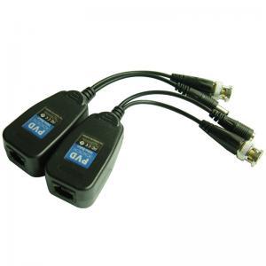 China HD-Cvi/Tvi/Ahd CCTV UTP Passive Power & Video Balun with CE RoHS (PV22H) wholesale