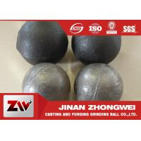 China Cement plant use  forged and low chrome cast grinding ball / steel grinding balls wholesale