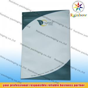 China Custom Printed Ziplock Tea Bags Packaging Side Sealed Aluminum Foil wholesale