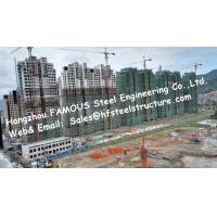 China Prefab Modular Architecture Multi Storey Steel Frame Buildings Apartment Project on sale