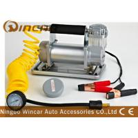 China 150Psi Metal 40mm Cylinder Car Small Portable Air Compressor 12V 72L / Min Air Flow wholesale